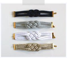 Wicked Bride Stationery: DIY: Nautical Knot Bracelets