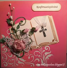 Confirmation Cards, Heartfelt Creations, Place Cards, Place Card Holders, Handmade, Design, Hand Made, Craft