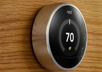 Nest thermostat. (look what my parents did to me growing up)