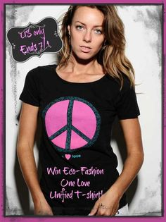 One Love Unified T-shirt #giveaway ends 7/1 US only - Emptynester Reviews