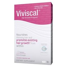 Viviscal Hair Growth Supplements for Women – 60 ct