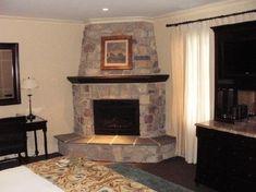 corner fireplace - Bing Images