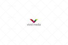 Vivid Media Logo by ASKDziner on @creativework247