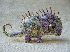 Anya Stesanko and Slava Leontyev make pretty incredible things out of porcelain.