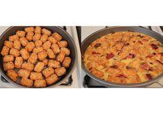 How to make a breakfast frittata (AKA Tater Tot Casserole)
