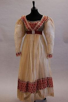 Dress  1820s  Kerry Taylor Auctions
