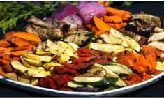 Roasted vegetables grilled vegetable recipes, grilled vegetables, bbq v Clean Eating Vegetarian, Vegetarian Meals For Kids, Vegan Meals, High Protein Vegetarian Recipes, Healthy Recipes, Pureed Recipes, Tofu Recipes, Healthy Food, Grilled Vegetables