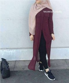 Fall hijab fashion designs Fall hijab fashion designs – Just Trendy Girls Stylish Hijab, Hijab Casual, Hijab Outfit, Ootd Hijab, Modest Outfits, Outfits For Teens, Chic Outfits, Modest Clothing, Woman Clothing