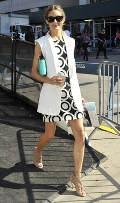 Olivia Palermo Photos: Celebs Spotted Out During New York Fashion Week