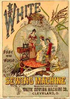 The White Sewing Machine Co. Trade Card