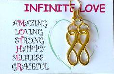 Gold Pierced Earrings Gold Infinity Earrings Mother's