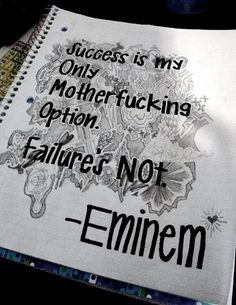famous quotes about life | eminem, famous, life, photography, quote - inspiring picture on Favim ...