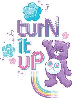 Turn it up! Care Bears CareBears #carebears