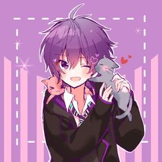 Anime Cat Boy, Cool Anime Girl, Anime Neko, Kawaii Anime, Anime Guys, Manga Anime, Anime Art, 8bit Art, Cartoon Art Styles
