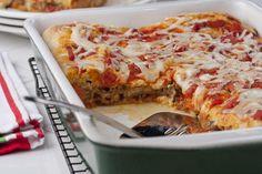 Stuffed Pizza Casserole | MrFood.com