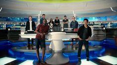 Star Trek Beyond beams into IMAX worldwide! Star Trek Bridge, John Cho, Watch Star Trek, Den Of Geek, Star Trek Beyond, Star Trek Series, Zachary Quinto, The Way I Feel, Karl Urban