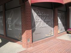 Pavilions Shopping Center Window Graphics