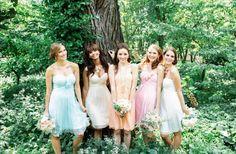 20 Beautiful Ways to Mix and Match Bridesmaids | OneWed