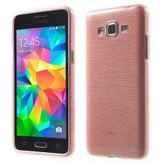 Samsung Galaxy Grand Prime TPU Case, Hoesje Roze