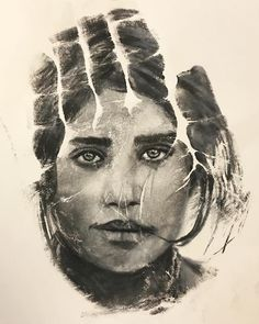 Artist Creates Striking Prints Of Realistic Portraits Using His - Artist uses pencils to create striking hyper realistic portraits