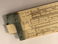 VTG K&E Keuffel & Esser N4080-3 Log Log Duplex Trig Slide Rule W/ Leather Case