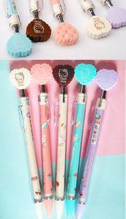 Hello Kitty heart cookie mechanical pencil