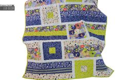 Patchwork quilt Summer by LizaDecor on Etsy