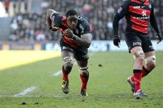 If you want it, Go and get it ! Great picture of @YannickNyanga from #Toulouse #Rugby