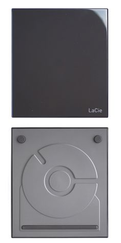 Lacie hard drive, thoughtful design not just on the surface