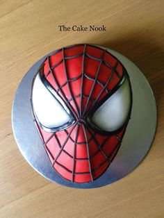 Spiderman cake. by Zoe Robinson