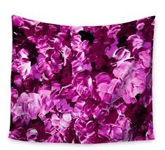 Floral Fantasy by Ebi Emporium Wall Tapestry