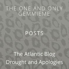 Check out my latest blog! www.gemmieme.com