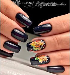 Looking for cute ideas of black nail art designs? Here you can see for more beautiful ideas of black gel Manicure arts for natural nails to use in 2017 Black Acrylic Nails, Black Coffin Nails, Black Nail Art, Acrylic Gel, Matte Black, Fall Nail Art Designs, Black Nail Designs, Acrylic Nail Designs, Autumn Nails