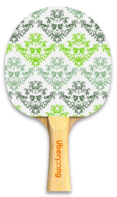 'Yodamask' Uberpong paddle. Only $30 here:  https://www.uberpong.com/designer-paddles/yodamask/ #pingpong #tabletennis
