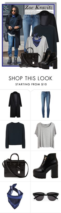 """""""Zoe Kravitz Style Appreciation Set"""" by anne-mclayne ❤ liked on Polyvore featuring Mode, Non, J Brand, Boutique, Chicnova Fashion, Yves Saint Laurent, Roberto Cavalli, GetTheLook, StreetStyle und celebstyle"""