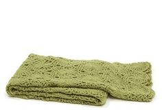 hand crocheted throw, perfect for spring time in the gazebo