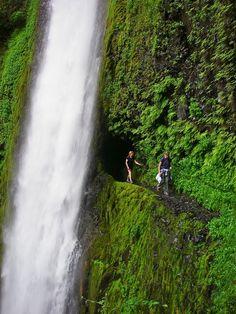 Tunnel Falls - Eagle Creek Trial, Oregeon