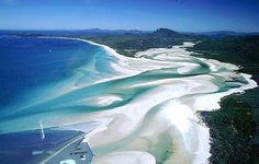 Whitehaven Beach is one of the most beautiful sandy beaches in the world, have clean water, fresh air, and rich in marine life, it's amazing, the beach is also named as the cleanest beach in Queensland, Australia