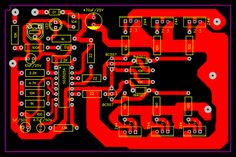 How to make Inverter to to with feedback circuit and PCB at home Power Electronics, Electronics Components, Electronics Projects, Battery Charger Circuit, Diy Guitar Pedal, Electronic Circuit Design, Circuit Board Design, Diy Amplifier, Electronic Schematics