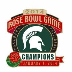 2014 Rose Bowl Game - MICHIGAN STATE CHAMPIONS Pin