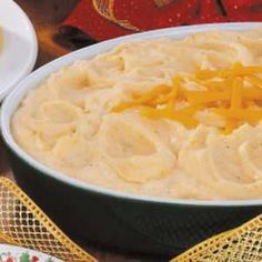 These are so yummy and EASY!  I make one similar to this and its out of this world!  Give it a try, you'll never go back to regular mashed potatoes