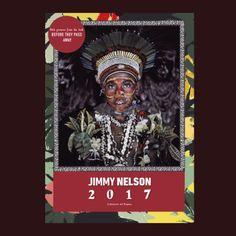 Jimmy Nelson Art calendar - Cultures of Papua