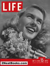 Little girl clothes  life magazine cover