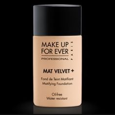 Makeup Forever Mat Velvet + Foundation Mat Velvet + foundation in the shade 60. I have only used it once and realized it wasn't a foundation that works for me. Full bottle and comes in original box. Makeup Forever Makeup Foundation