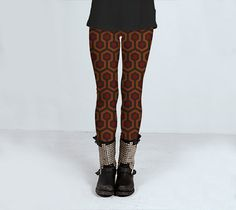 Come Play With Us Shining Fan Art  Leggings di DeathsAmoreCloth