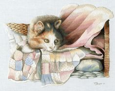 Beautiful Trish Burr Embroidery.
