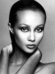 Iman Abdulmajid | Somalian Supermodel   Photographer: Francesco Scavullo