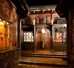 Ping Yao, Shanxi Province Ping Yao is an ancient walled city, Unesco world heritage site Ying's Residence http://www.jingsresidence.com