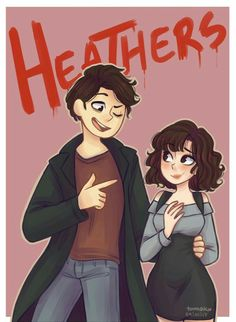 Heathers- i watched all hour of musical Heathers Fan Art, Heathers The Musical, Theatre Nerds, Musical Theatre, Theater, Jd And Veronica, Dear Evan Hansen, Pose, Film Serie