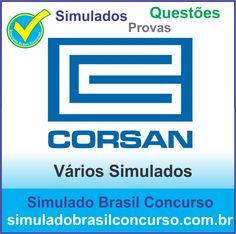 Concurso da Corsan 2014.  Novos Simulados e Questões da Corsan 2014.  http://simuladobrasilconcurso.com.br/simulados/concursos/?filtro_concurso=897  #SimuladoBrasilConcurso, #ProvaCorsan